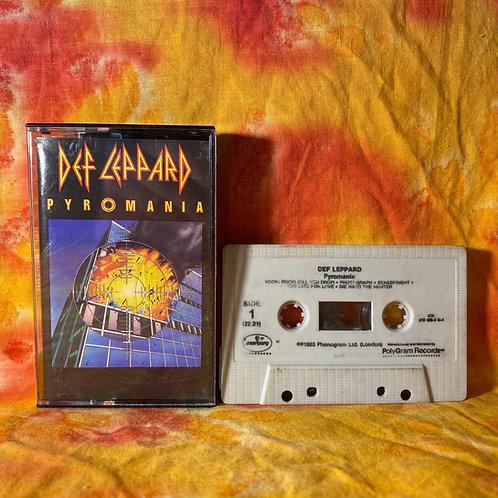 Def Leppard - Pyromania [Cassette]