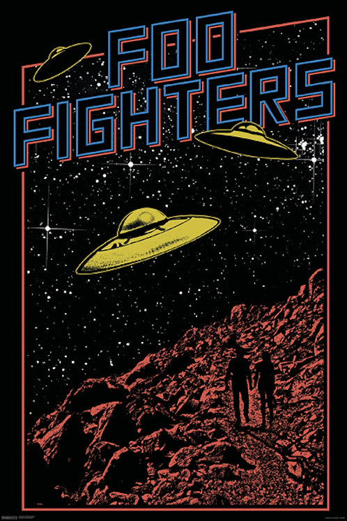 Foo Fighters UFO [Poster]