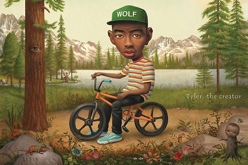 Tyler the Creator Bicycle [Poster]