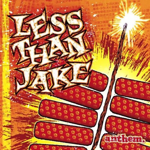 Less than Jake - Anthem [Yellow/Red LP] Indie Exclusive