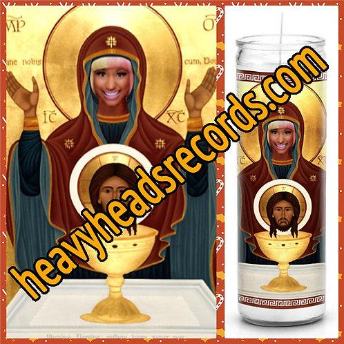 Nicki Minaj Celebrity Prayer Candle