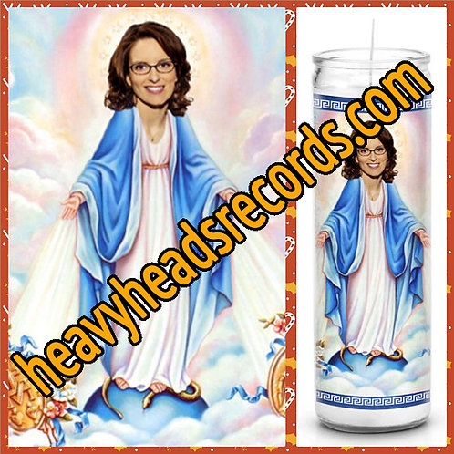 Tina Fey Celebrity Prayer Candle