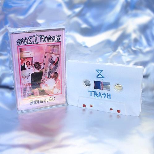 Suzi Trash - Born on All Fours [Cassette]