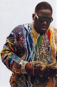 Notorious BIG Coogi Sweater [Poster]