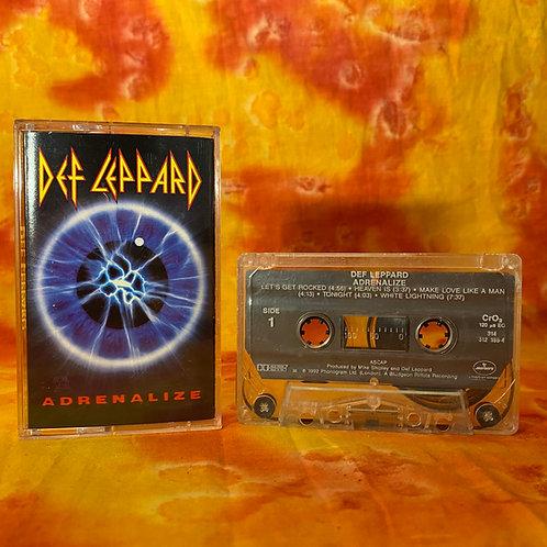 Def Leppard – Adrenalize [Cassette]