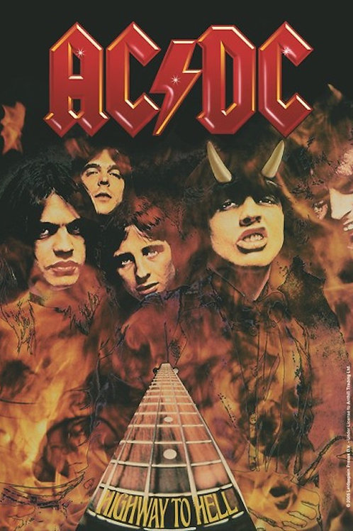 AC/DC Fabric Poster Flag