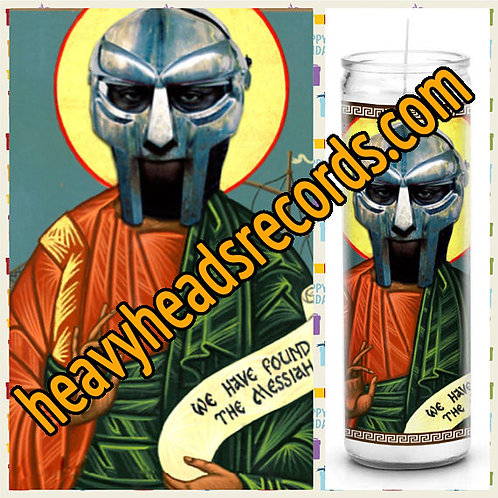MF Doom Celebrity Prayer Candle