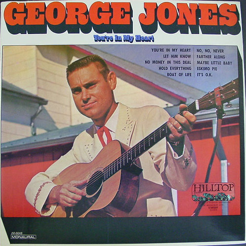 George Jones - You're in my Heart [LP]