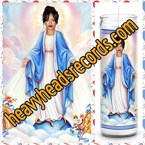 Rihanna Celebrity Prayer Candle