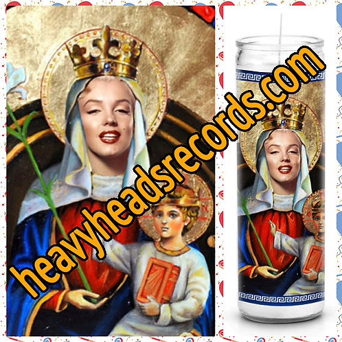 Marilyn Monroe Celebrity Prayer Candle