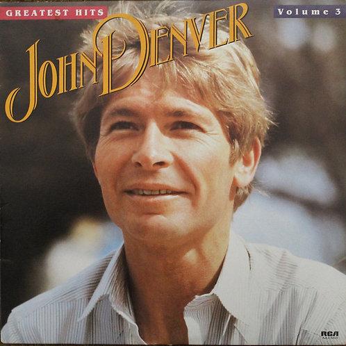 John Denver - Greatest Hits Volume 3 [LP]