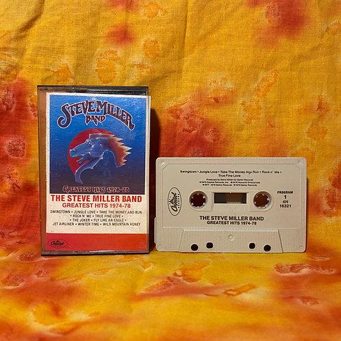 Steve Miller Band Greatest Hits 1974-1978 [Cassette]