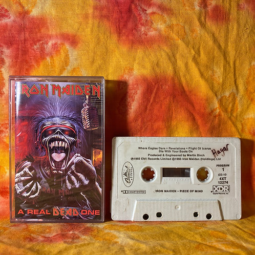 Iron Maiden - A Real Dead One [Cassette]