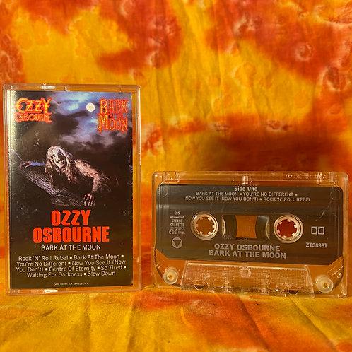 Ozzy Osbourne - Bark at the Moon [Cassette]