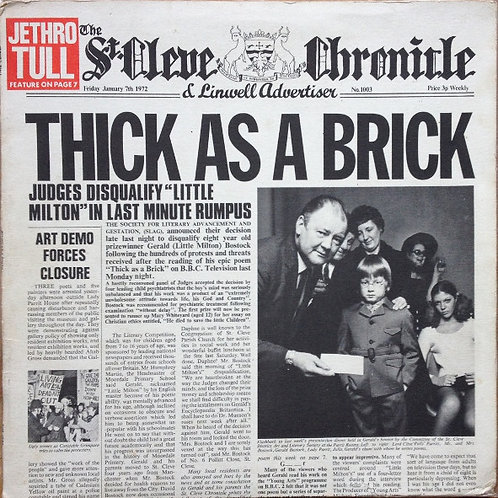Jethro Tull - Thick as a Brick [LP]
