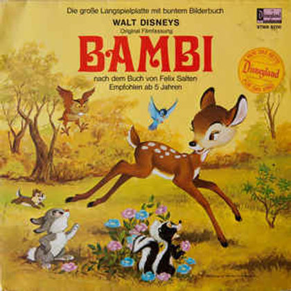 Bambi with Story Book [LP]