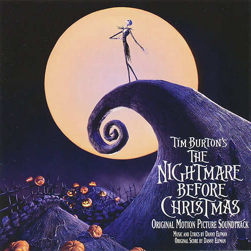Tim Burton's The Nightmare Before Christmas Soundtrack [2LP]
