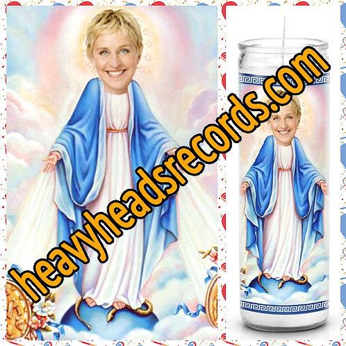 Ellen Degeneres Celebrity Prayer Candle