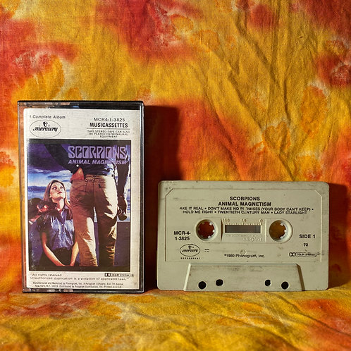 The Scorpions - Animal Magnetism [Cassette]