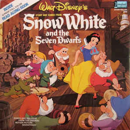 Snow White and the Seven Dwarfs with Story Book [LP]