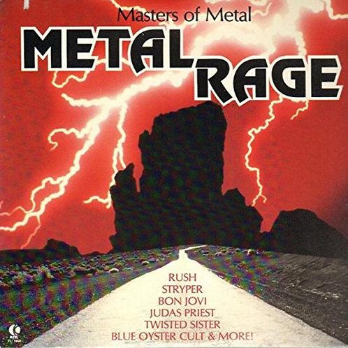 Masters of Metal - Metal Rage [LP]