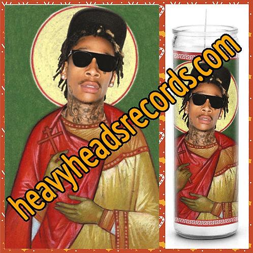 Wiz Khalifa Celebrity Prayer Candle
