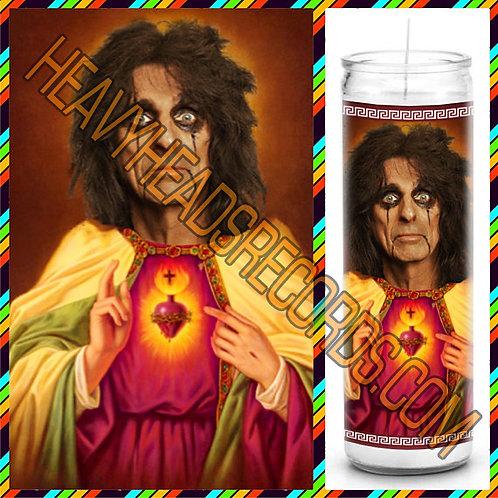 Alice Cooper Celebrity Prayer Candle
