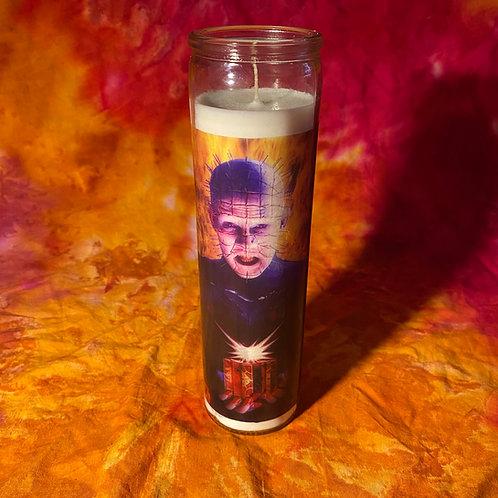 Hellraiser Pinhead Celebrity Candle