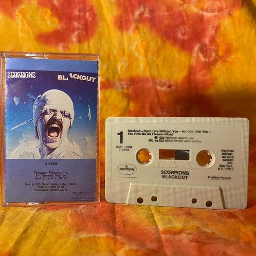 Scorpions - Blackout [Cassette]