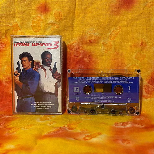 Lethal Weapon 3 [Cassette]