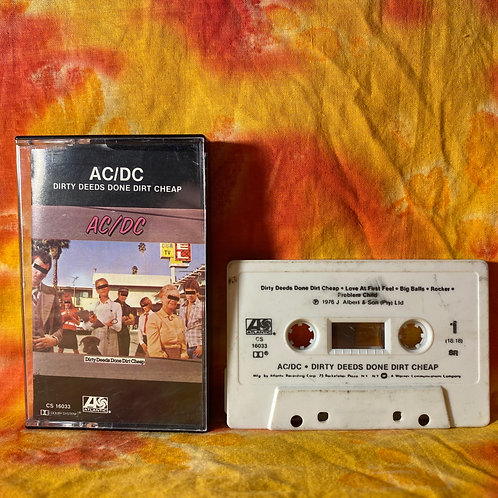 AC/DC - Dirty Deeds Done Dirt Cheap [Cassette]