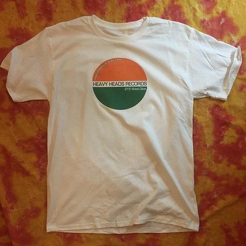Heavy Heads Records Soft T-Shirt (White)