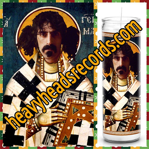 Frank Zappa Celebrity Prayer Candle