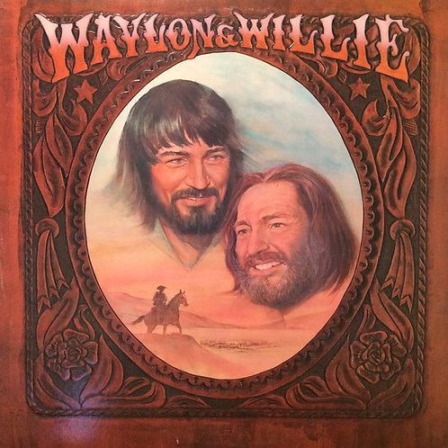 Waylon Jennings and Willie Nelson - Waylon and Willie [LP]