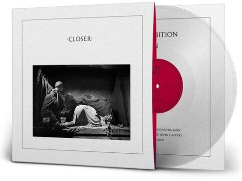 Joy Division - Closer 40th Anniversary Limited Edition [Clear Vinyl][LP]