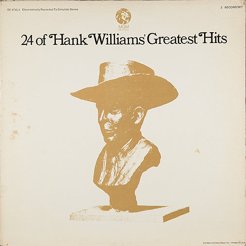 Hank Williams - 24 of Hank Williams Greatest Hits [2LP]