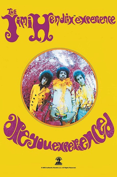 Jimi Hendrix - Are You Experienced - Fabric Poster Flag