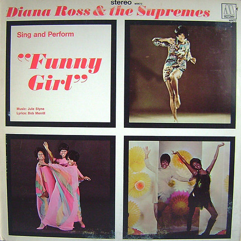 Diana Ross and the Supremes - Funny Girl [UK IMPORT][LP]