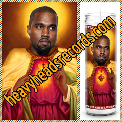 Kanye West Celebrity Prayer Candle