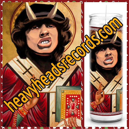 AC/DC Celebrity Prayer Candle