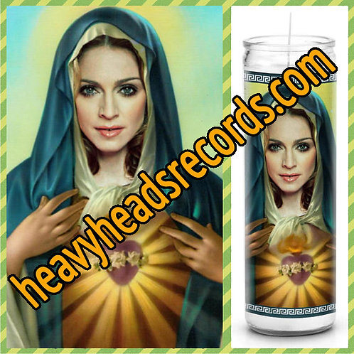 Madonna Celebrity Prayer Candle