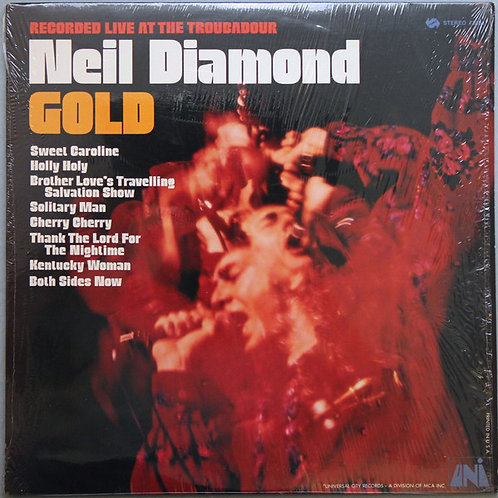 Neil Diamond - Gold: Recorded Live at the Troubadour [LP]