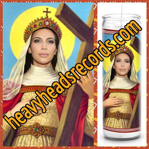 Kim Kardashian Celebrity Prayer Candle