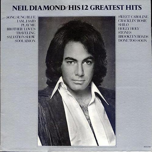Neil Diamond - His 12 Greatest Hits [LP]