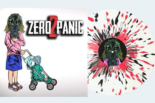 Zero 2 Panic - Self Titled [Black and Red Splatter][LP]