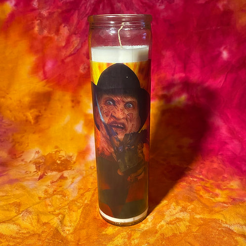 Freddy Krueger Celebrity Candle