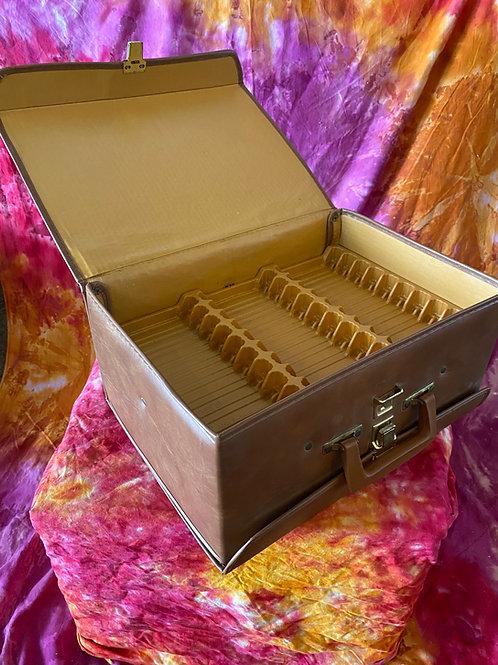 Vintage Cassette Tape Mega Storage Case