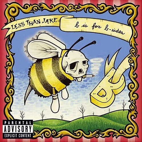 Less Than Jake - B Is For B-Sides [Indie Exclusive Clear/Opaque Yellow LP]