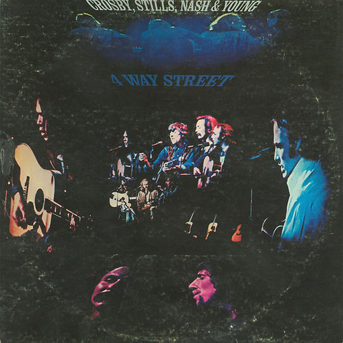 Crosby, Stills, Nash, and Young - 4 Way Street [2LP]