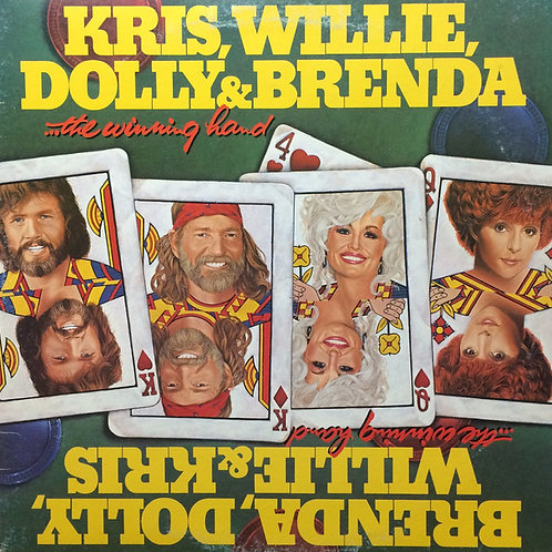 Brenda, Dolly, Willie, and Kris - The Winning Hand [LP]